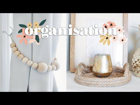 DIY Organisation for the New House | Bedroom Organisation Ideas 2018