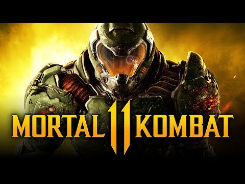 MORTAL KOMBAT 11 - DoomGuy Guest Character & Johnny Cage TEASED By Ed Boon? thumbnail