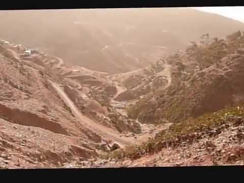 The italian historic railway Asmara Massawa Eritrea. Part 1 The departure from Asmara.