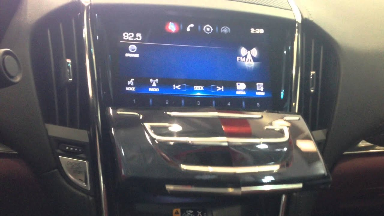 Old Mill Gm >> How to use the CUE system in the 2015 Cadillac ATS Performance. - YouTube