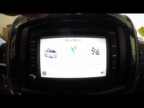 Winnebago RV Xcite Solutions Infotainment Center GPS Radio
