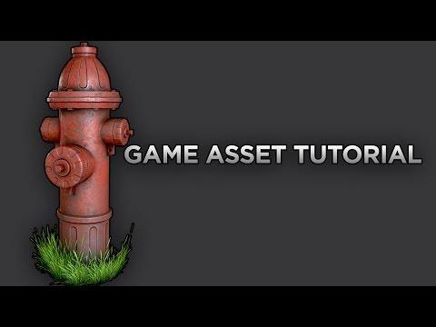 Game Asset Tutorial (4/5) Baking Maps Tutorial 3DS MAX