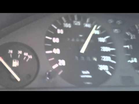 Bmw e30 318is m42 turbo 0-240 km/h  1 bar