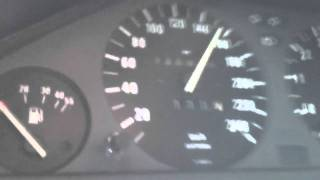 Bmw e30 318is m42 turbo 0-240 km/h  1 bar