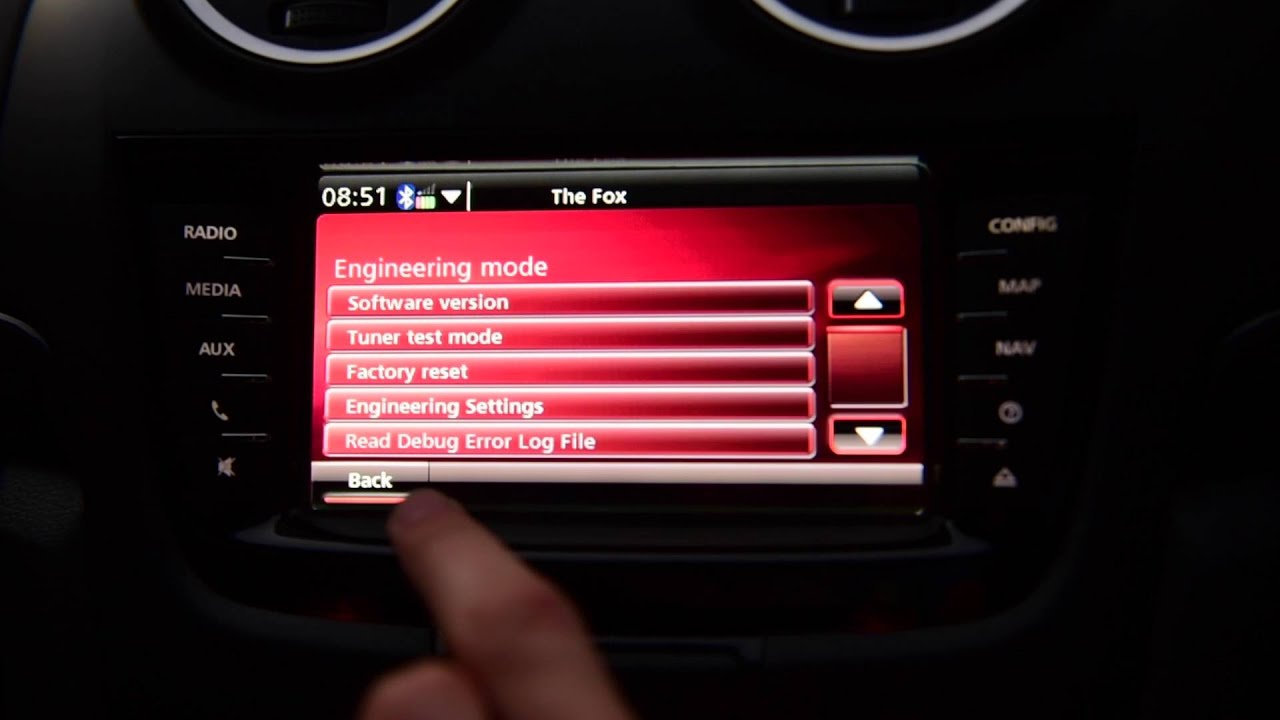 Holden IQ Hidden Engineering Mode - AutoInstruct