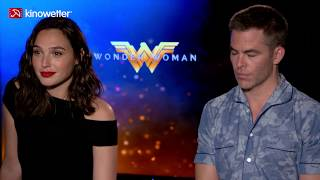 Interview Gal Gadot & Chris Pine WONDER WOMAN