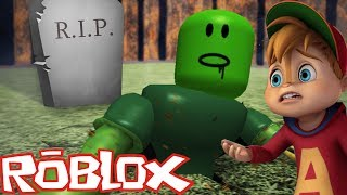 Chipmunk Surviving the Zombie Apocalypse / I'M THE ONE / ROBLOX