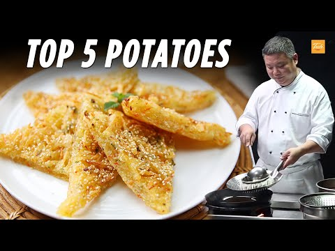 Chef's Favorite Top 5 Potato Recipes|土豆好吃的5種做法 • Taste Show