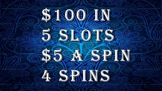 *NEW SERIES* Ep. 3. Fun Challenge: 5 slots, $5 a spin, 4 spins - Slot Machine Bonus(Rules: $100 In, 5 different game slots, $5 a spin, 4 spins This episode features: 1. Dangerous Beauty 2. DaVinci Diamonds 3. Cleopatra 4. Quick Hit Diamond ..., 2016-09-06T13:04:27.000Z)