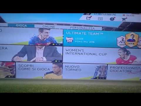 GLITCH FIFA 16 PS3 ULTIMATE TEAM