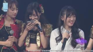 20161022 snh48 teamnii 万丽娜 生日环节cut