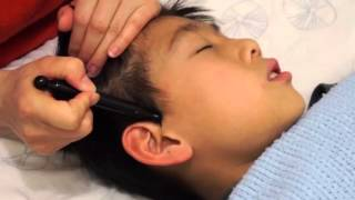 【林秋伶中醫師  Dr.Zoe Lin】 頭部鬆筋療法 【二、開耳穴 】