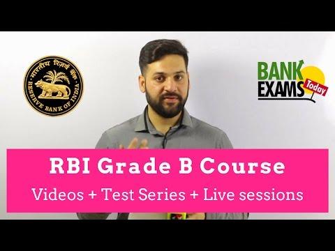 RBI Grade B Complete Course by Ramandeep Singh