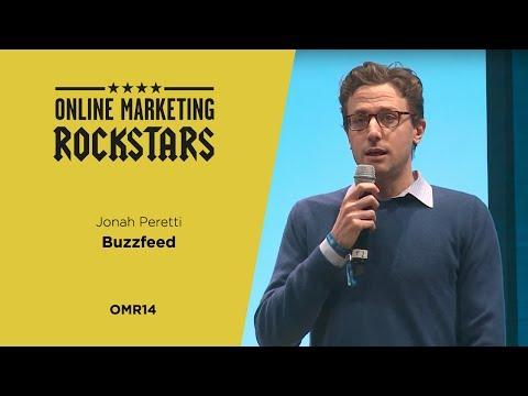 Jonah Peretti, Founder, CEO, BuzzFeed - Online Marketing Rockstars 2014 | OMR14