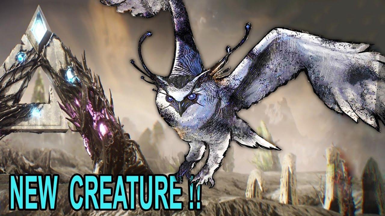 🦉ARK NEW CREATURE REVEAL !! Ark Extinction DLC Creature News Update