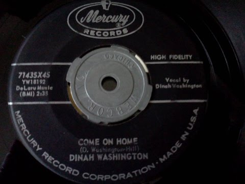 Dinah Washington - Come On Home '59 45rpm