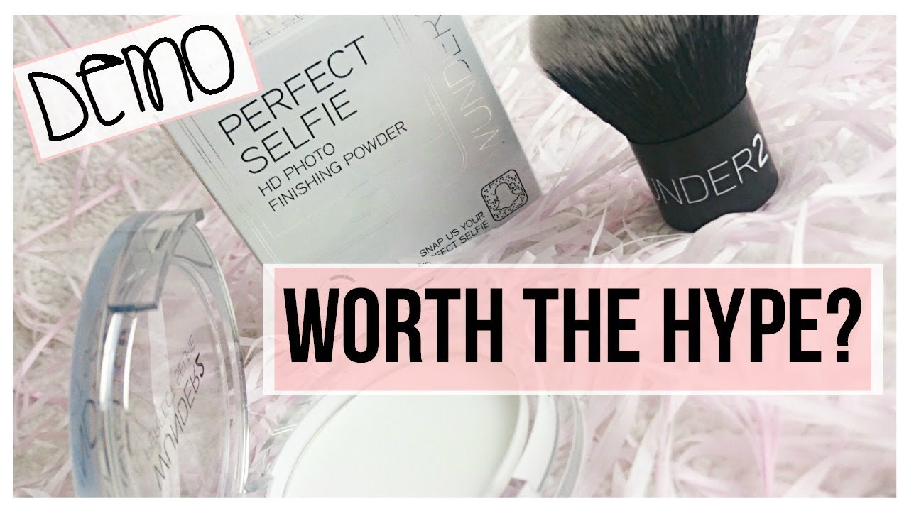 Wunder2 Perfect Selfie Powder & Kabuki Brush - Demo and Review ...