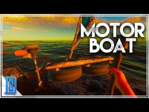 Stranded Deep - Part 3 - MOTOR BOATING/SHIP WRECK COVE!