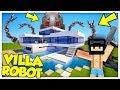ABBIAMO RAPINATO LA VILLA DEI ROBOT! - Minecraft ITA