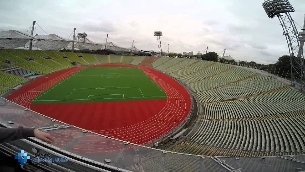 flying fox olympiastadion m nchen youtube. Black Bedroom Furniture Sets. Home Design Ideas