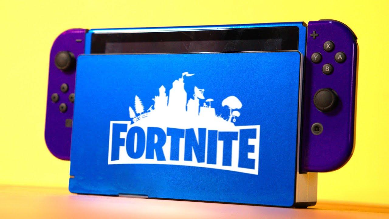 Fortnite Nintendo Switch Diy Edition