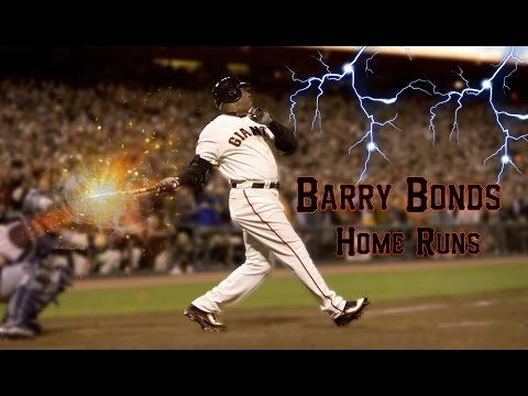 BARRY BONDS BEST HOMERUNS!!