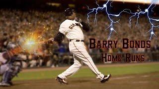 BARRY BONDS BEST HOMERUNS!!
