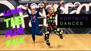 How To Do Fortnite Dances | *Plug Walk- Dance Tutorial* | #dancingwithgiggles