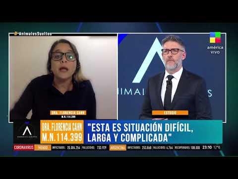 Luis Novaresio criticó al gobierno de Alberto Fernández yFlorencia Cahn le cerro la boca