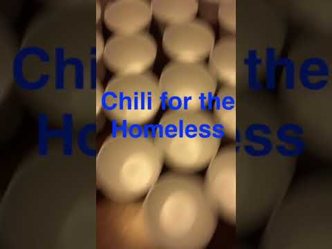 Chili for the Homeless