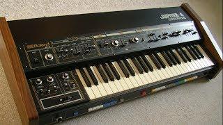 "Roland Jupiter-4 Analog Synthesizer (1978) ""Ten Sounds"" demo"