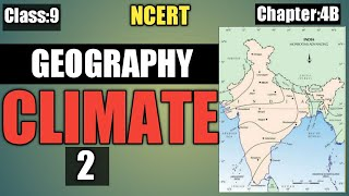 class 9 geography chapter 4 Climate in Hindi