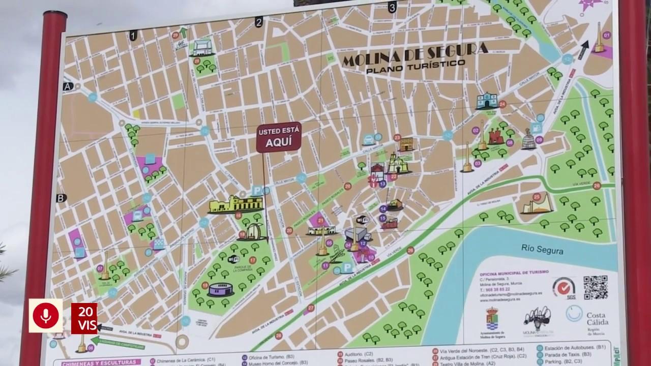 Mapa Molina De Segura.Ayuntamiento De Molina De Segura El Ayuntamiento De Molina