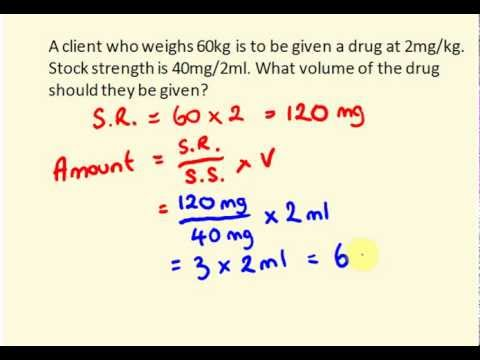 Nursing maths - medication math made easy! - YouTube
