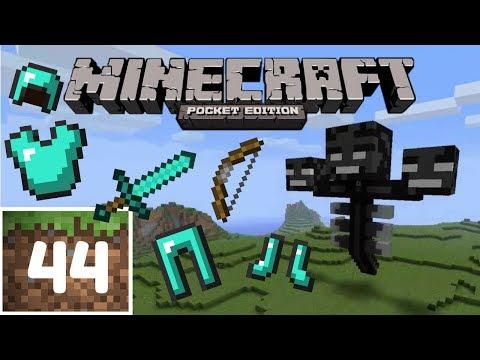 Minecraft PE ITA - #44 - ARMI E ARMATURA PER SCONFIGGERE IL WITHER!