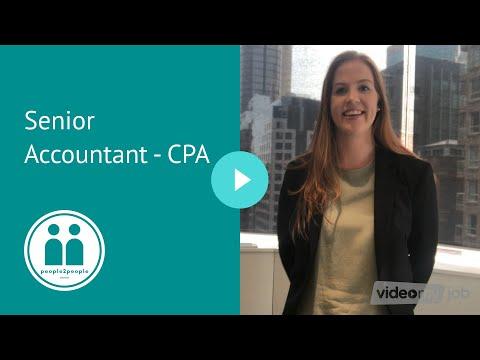 Senior Accountant - CPA