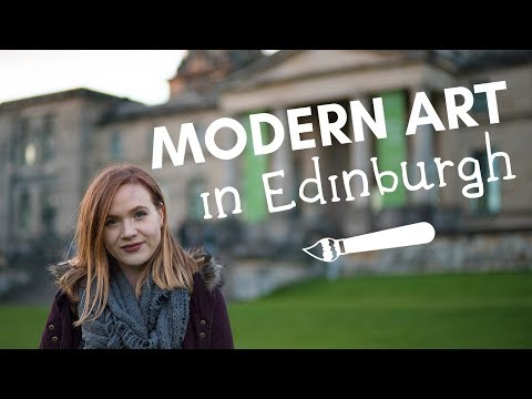 An artsy day in Edinburgh - visiting Dean Village and Gallery of Modern Art