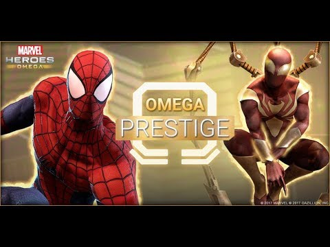 Marvel Heroes Omega | Spiderman | Omega Prestige | Everything You Need To Know