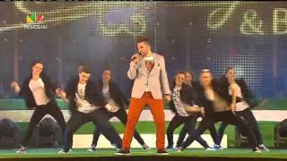 Kurt Calleja Live Performance part 3 This Is the Night at Cathedral Square Vilnius Lithuania