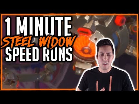HOW TO RUN 1 MINUTE STEEL WIDOW 10 RUNS | Dungeon Hunter Champions