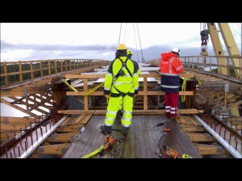 Manufacturing and installation of Lövö bridge