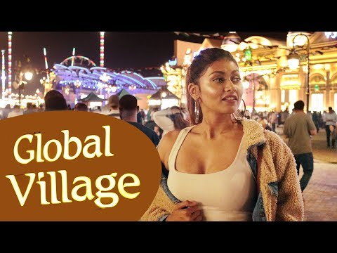 MOST AMAZING GLOBAL MARKETPLACE | DUBAI GLOBAL VILLAGE 2018 | Bosslady Shruti