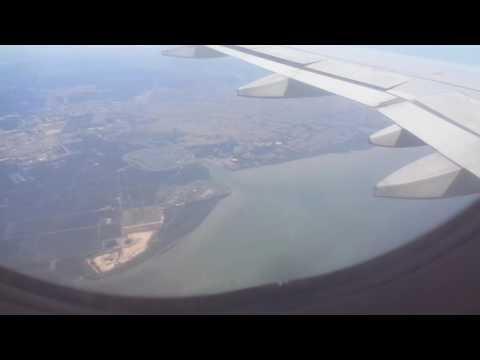 AirAsia AK1503 from Ho Chi Minh City landing at Penang International Airport