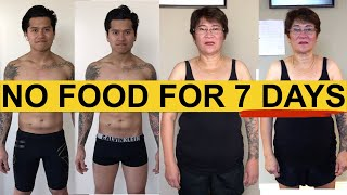 Here's What Happens When You Don't Eat For 7 Days (7 Day Fast Weight Loss)
