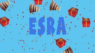 İyi ki doğdun ESRA - İsme Özel Ankara Havası Doğum Günü Şarkısı (FULL VERSİYON) (REKLAMSIZ)