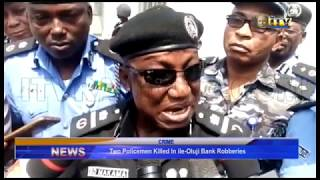 Two Policemen killed in Ile-Oluju Bank robberies