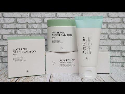 REVIEW ALTHEA WATERFUL GREEN BAMBOO PADS & ALTHEA SKIN RELIEF CALMING CREAM UNTUK KULIT BERMINYAK - YouTube