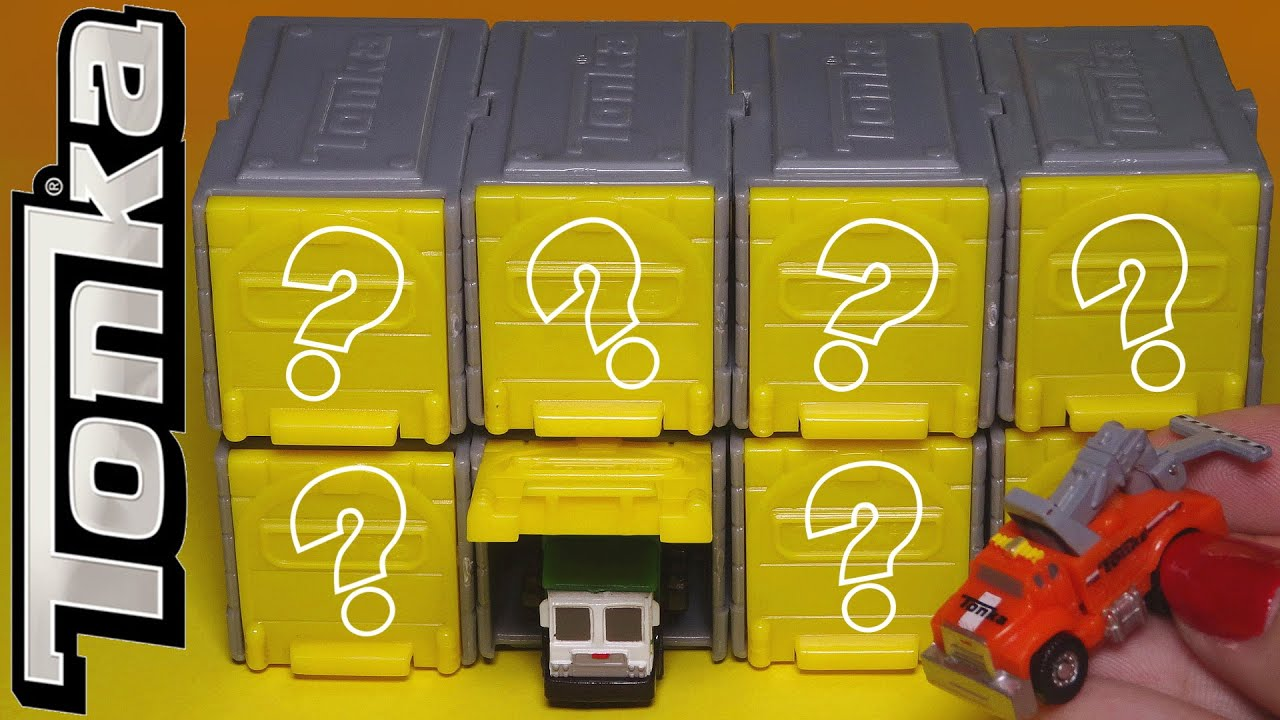 Opening Tonka Tinys Mystery Blind Box Vehicles Surprise Mini Cars