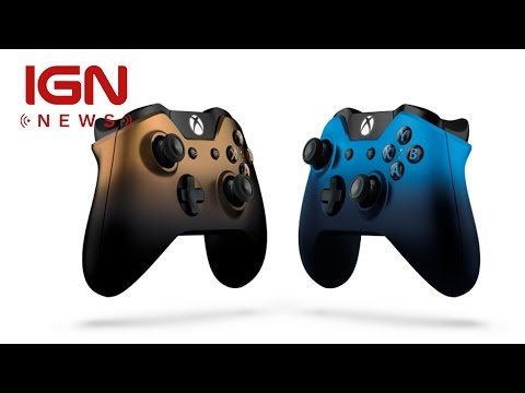 New Dusk Shadow and Copper Shadow Xbox One Controllers Revealed - IGN News