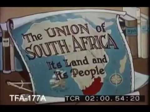 British Empire: The British Colony Of The Union Of South Africa 1956.